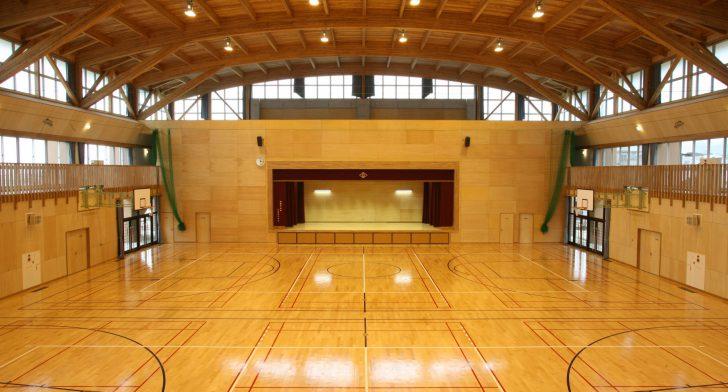 イメージ:三島東中学校屋内運動場新築